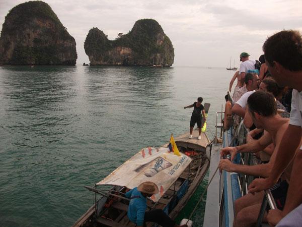 Abfahrt. Das nächste Boot bitte.