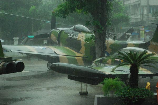 Tropischer Regen, wie damals