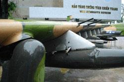 Das Kriegsmuseum in Saigon