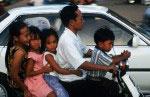 Kambodscha. Im Verkehr.