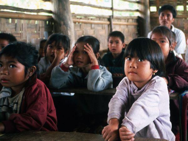 Schule in Laos