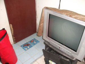 Thailand - PhiPhi  TV kaputt - alles andere auch!