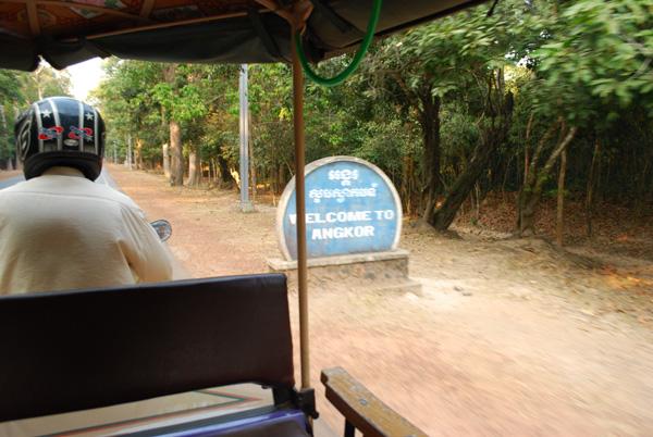Herzlich Willkommen - immer wieder - Angkor ist nie fertig
