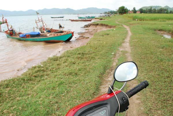 Kambodscha. Immer am Meer entlang.