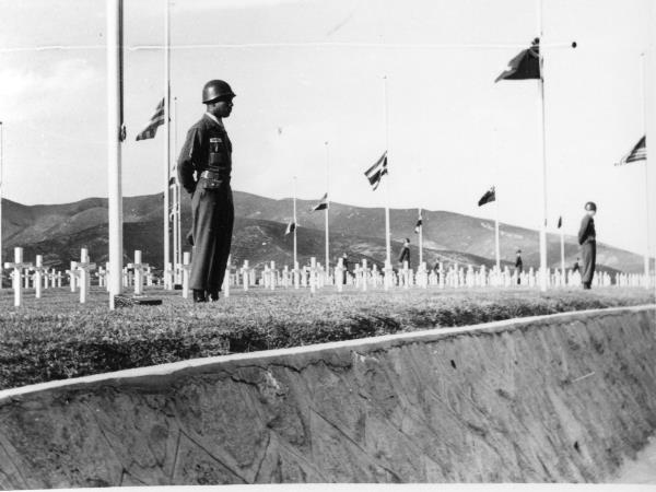 1958. Korea. UN-Memorial für die Kriegsgefallenen