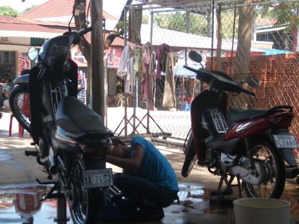 Rumfummeln an Motorbikes