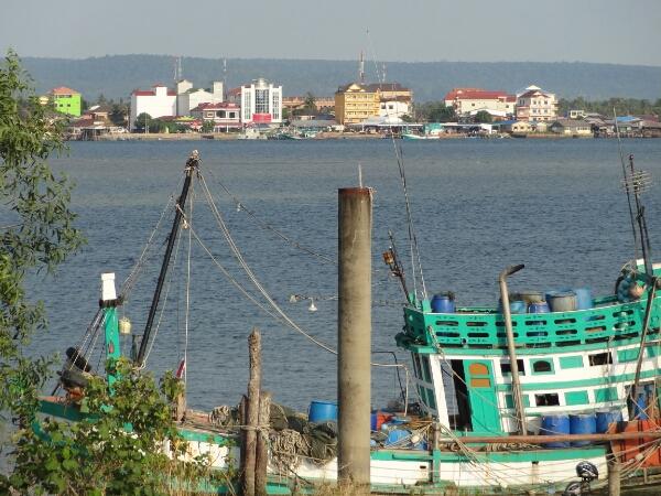 Khol Kong an der Küste
