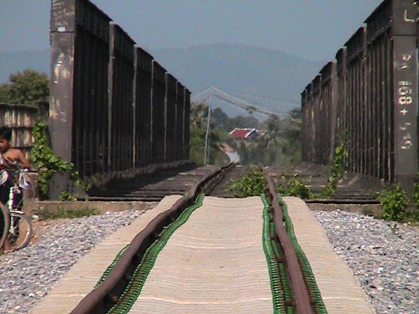 Verbogene Gleise