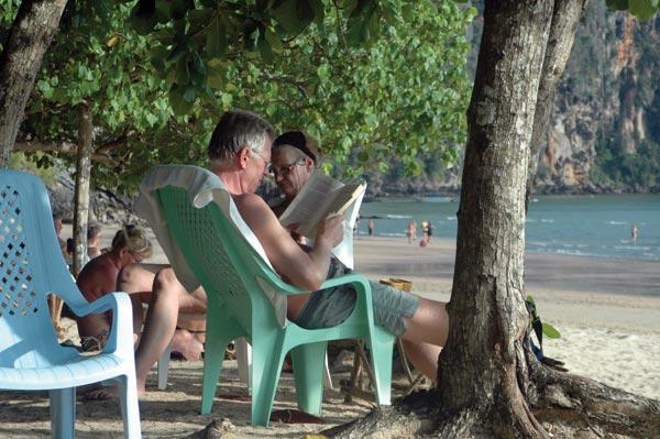 Sorgenfrei abhängen am Beach